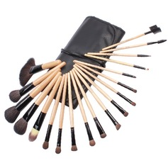 Top Wood Professional Makeup Brush (19 Pcs)