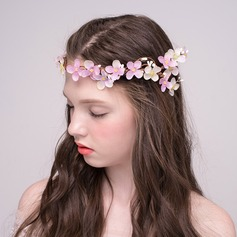 Special Silk Flower/Plastic/Hemp Rope Headbands