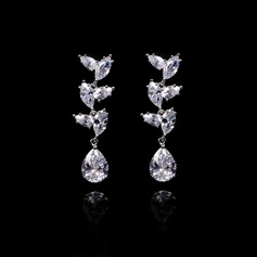 Fashional Zircon Ladies' Earrings
