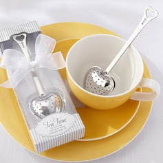 """Tea Time"" Heart Shaped Stainless Steel Tea Infuser"