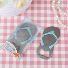Personalized Flip-Flop shape Bottle Openers