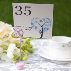 Personalized Tree Design Card Paper Table Number Cards (Set of 10)