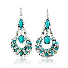 Classic Alloy With Imitation Crystal Women's Fashion Earrings