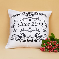 Personalized Floral Design Pillow Case