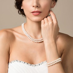 "Beautiful ""AA"" Pearl Ladies' Jewelry Sets"