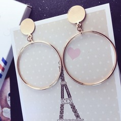 Classic Gold Plated Copper With Gold Plated Women's Fashion Earrings