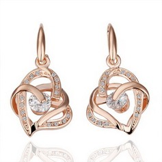 Classic Alloy Women's Earrings
