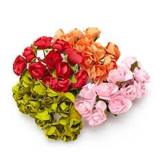 Sweet Rose Paper Artificial Flowers