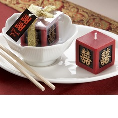 Double Happiness Keepsake Candle(096017577)