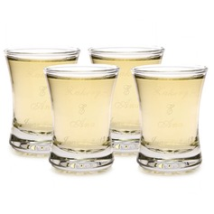 Personalized Glass Shot Glass (Set of 12)
