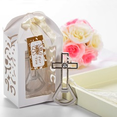 Cross shaped Bottle Openers With Tassel