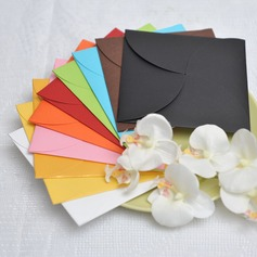 Personalized Classic Style Wrap & Pocket Invitation Cards With Ribbons  (114050664)