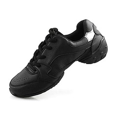 Real Leather Practice Sneakers Dance Shoes (053012959)