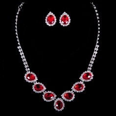 Attractive Crystal Ladies' Jewelry Sets