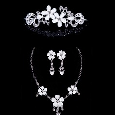 Gorgeous Alloy/Acrylic With Rhinestone Ladies' Jewelry Sets