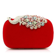 Gorgeous Velvet With Rhinestone/Animal Clutches