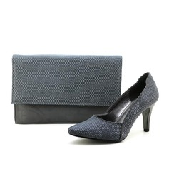 Charming Velvet/Composites Shoes & Matching Bags