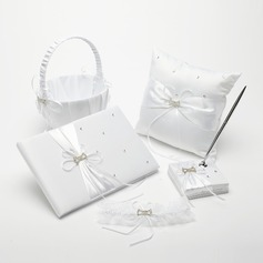 Gorgeous Collection Set in Satin With Ribbons