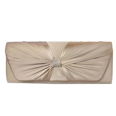 Gorgeous Silk With Bowknot/Rhinestone Clutches