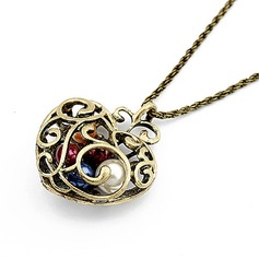 Heart Shaped Alloy Ladies' Fashion Necklace
