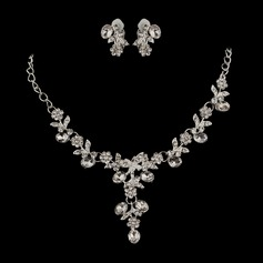 Exquisite Alloy/Rhinestones Ladies' Jewelry Sets