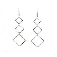 Chic Metal Ladies' Fashion Earrings