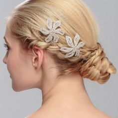 Eye-catching Crystal Hairpins (Sold in single piece)