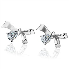 Lovely Alloy With Imitation Crystal Ladies' Fashion Earrings
