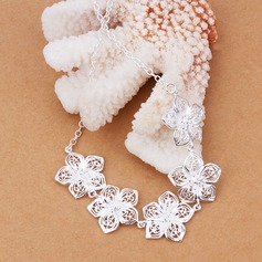 Beautiful Silver Plated Ladies' Fashion Necklace