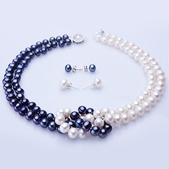 "Attractive ""A"" Level Pearl Ladies' Jewelry Sets"