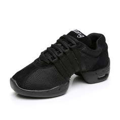 Women's Nubuck Sneakers Practice Dance Shoes