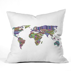 Modern/Contemporary Cotton Velvet Pillows & Throws (Sold in a single piece) (203081107)