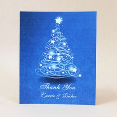 Personalized Star Design Hard Card Paper Thank You Cards