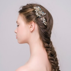 Lovely Alloy/Silver Plated/Gold Plated Hairpins (Length:10cm,Width:6cm)
