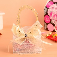 Lovely Handbag shaped Favor Bags With Bow (Set of 12)
