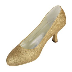 Women's Silk Like Satin Kitten Heel Closed Toe Pumps