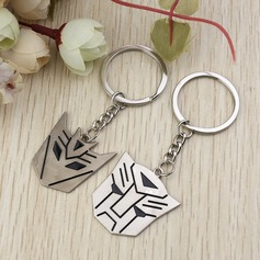 Funny & Reluctant Transformers Zinc alloy Keychains (Set of 6 Pairs)