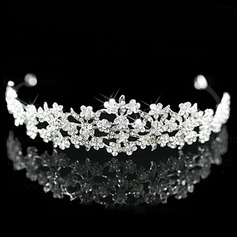 Alloy With Cubic Zirconia Wedding Tiara (042024250)