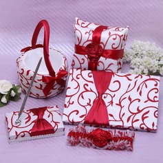 Gorgeous Floral With Bow/Petals Wedding Collection Set