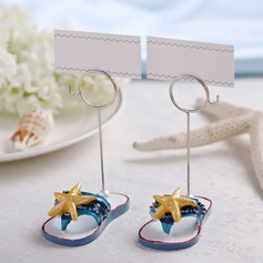 Starfish or Fish Design Resin Place Card Holders