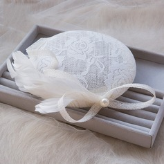 Beautiful/Horse Racing Feather/Lace/Tulle Fascinators/Hats