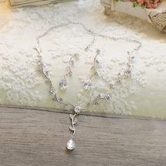Beautiful Rhinestones/Zircon Ladies' Jewelry Sets