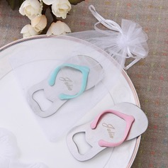 Personalized Flip-flop Zinc Alloy Bottle Opener (Set of 4)