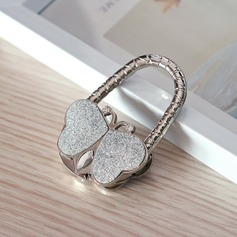 Butterfly Zinc Alloy Purse Valets With Rhinestone