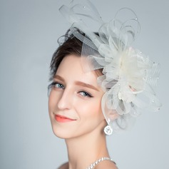 Special Rhinestone/Net Yarn Fascinators