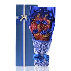 Gorgeous Free-Form Paper/Ribbon Gift Flower