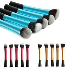 Professional 5Pcs Synthetic Hair Makeup Brush Set