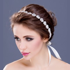 "Artistic Silver Plated/""A"" Level Rhinestone Headbands"