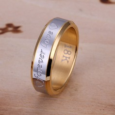 Romantic Silver Plated Men's Rings