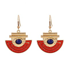 Fashional Resin Acrylic Zinc Alloy Ladies' Fashion Earrings